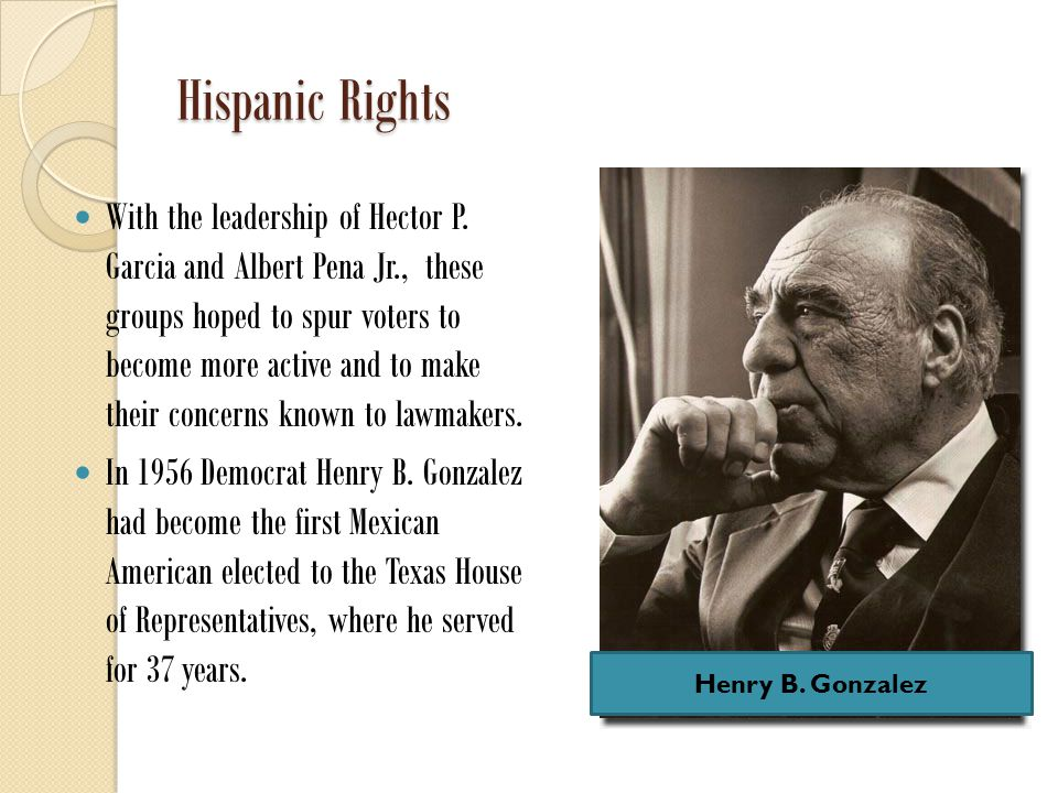 Hispanic Rights