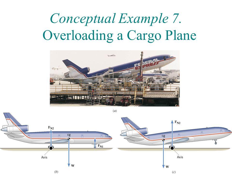 Conceptual Example 7. Overloading a Cargo Plane