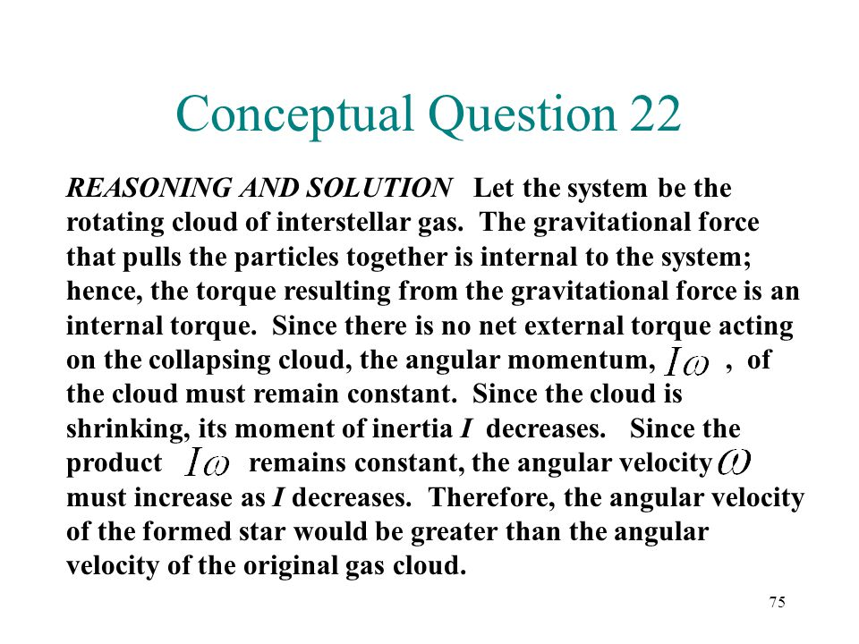 Conceptual Question 22