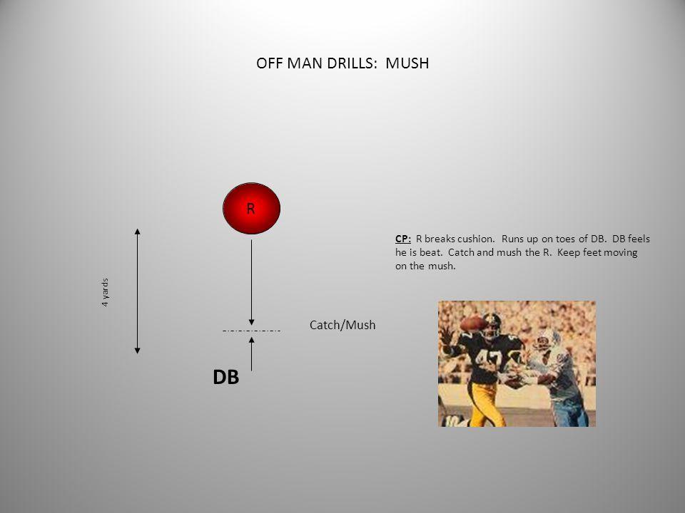 DB OFF MAN DRILLS: MUSH R Catch/Mush