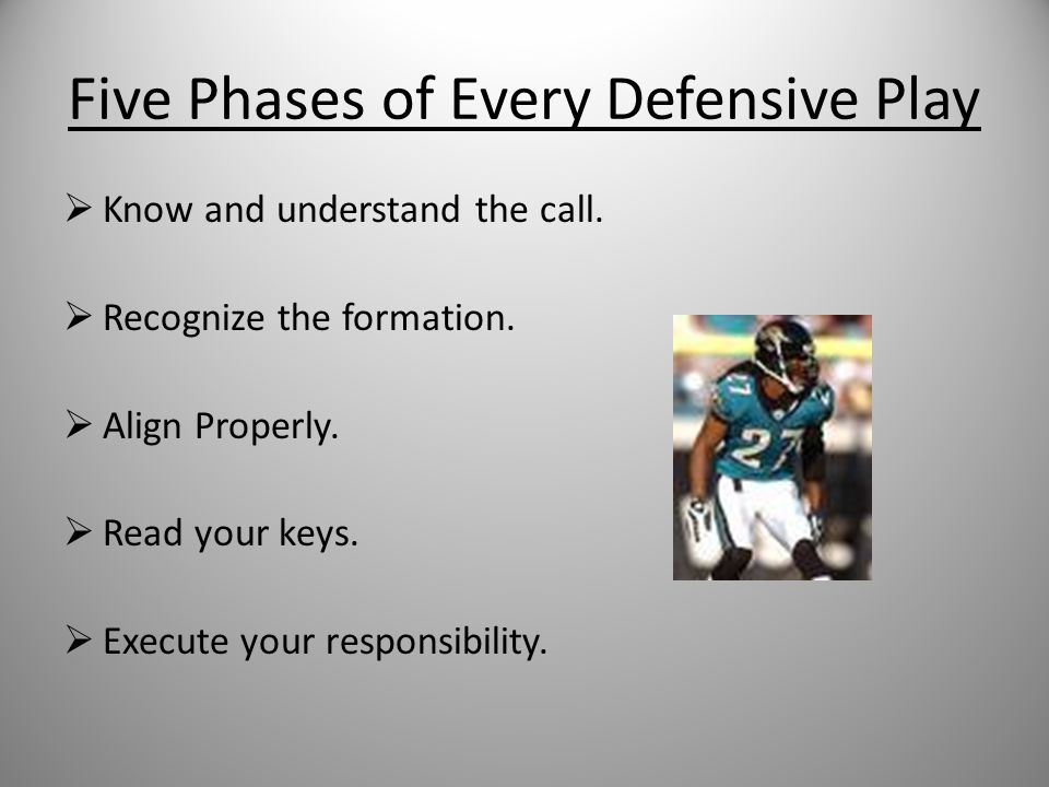 Five Phases of Every Defensive Play