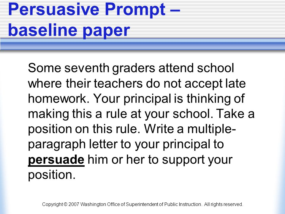 Persuasive Prompt – baseline paper