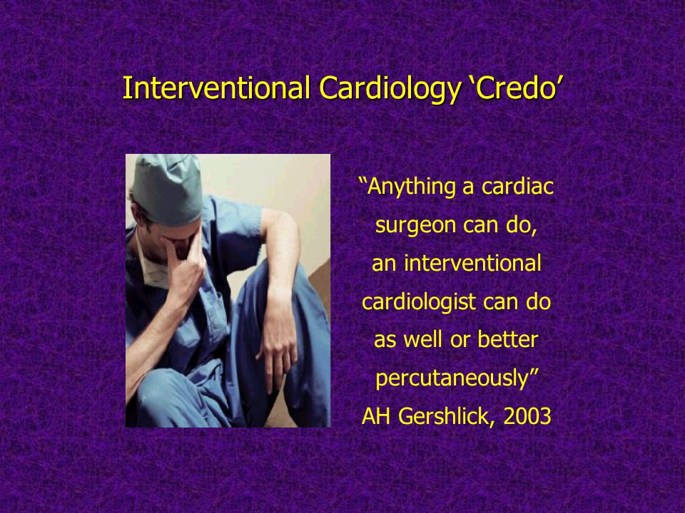 Interventional Cardiology 'Credo'
