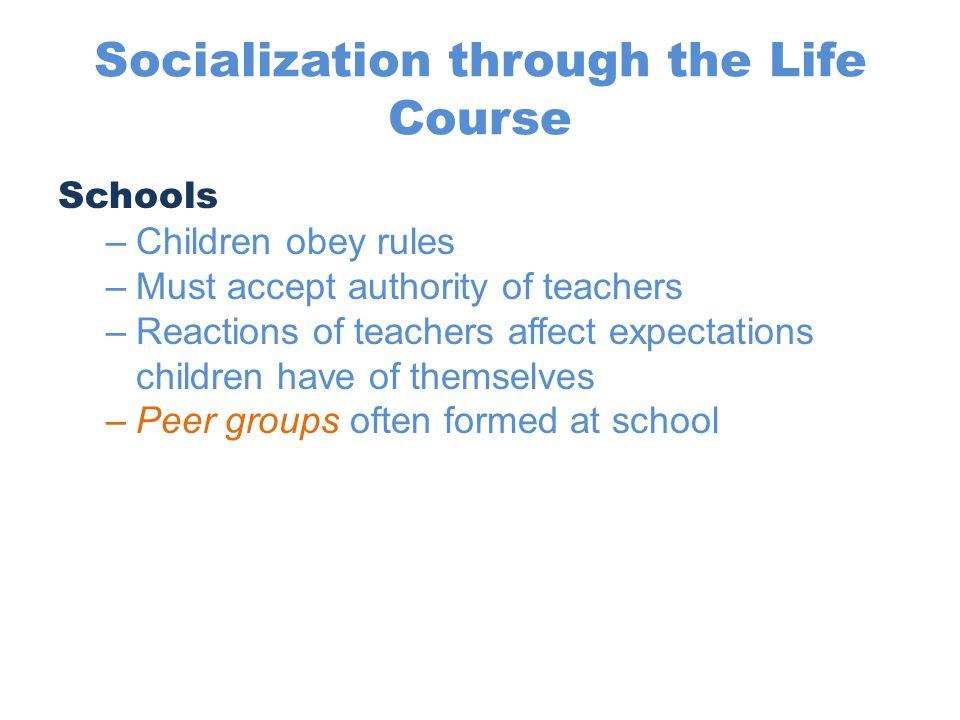 Socialization through the Life Course