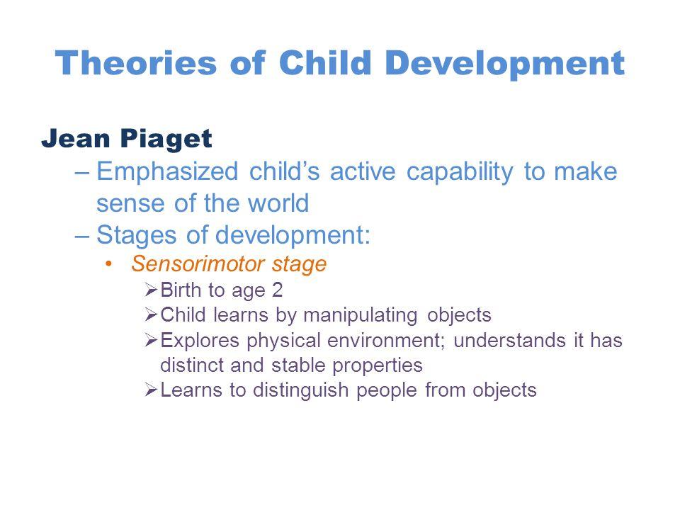 Theories of Child Development