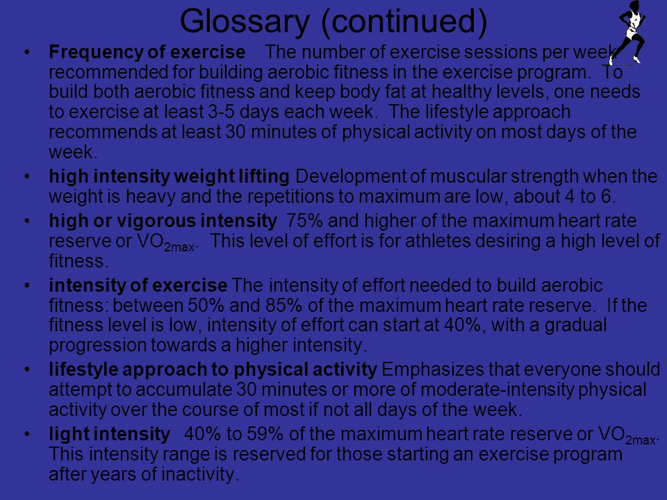 Glossary (continued)