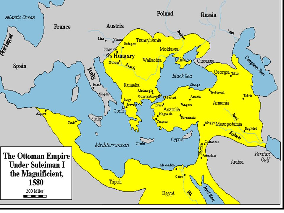 Ottoman Empire – Islamic Turks