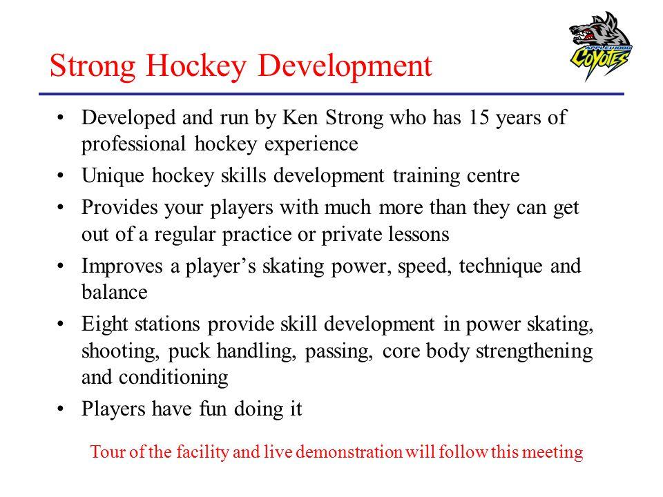 Strong Hockey Development