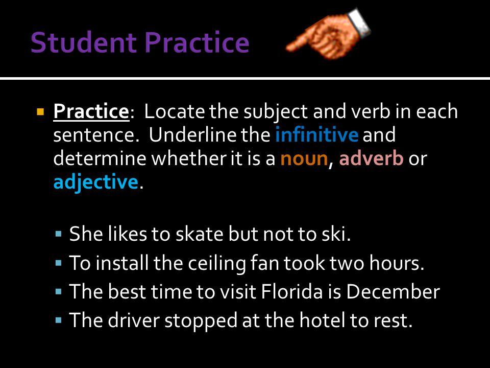 Student Practice