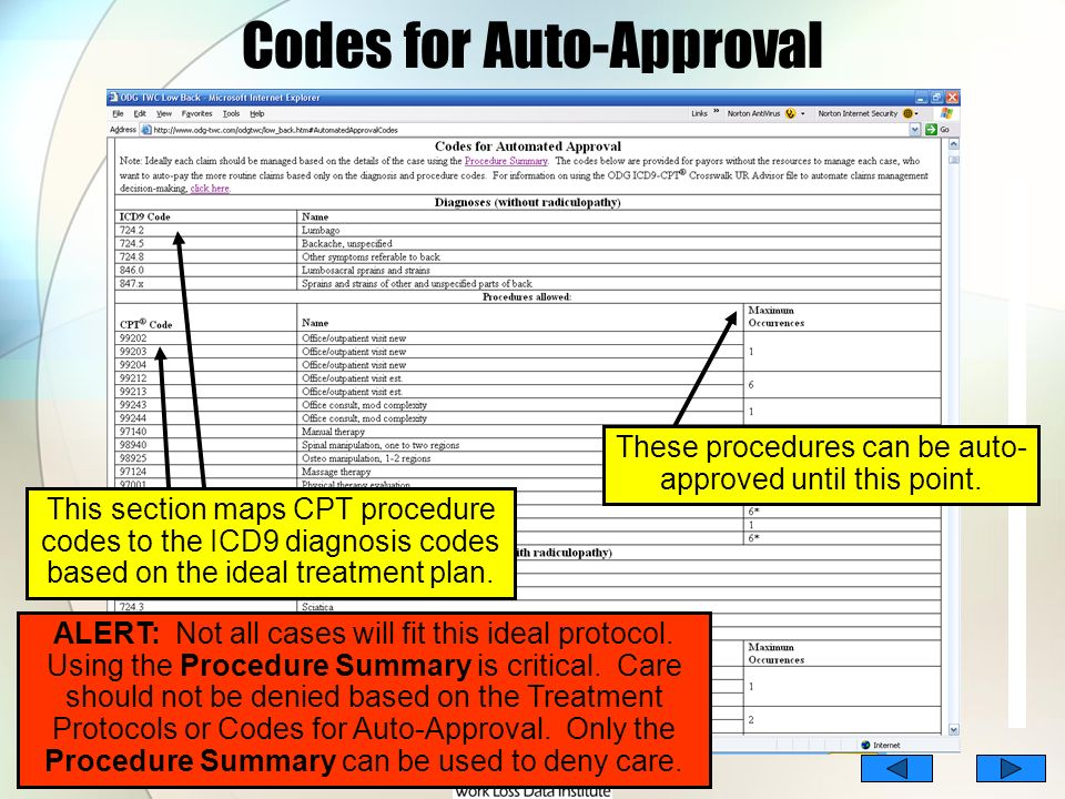 Codes for Auto-Approval