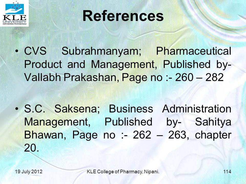 KLE College of Pharmacy, Nipani.