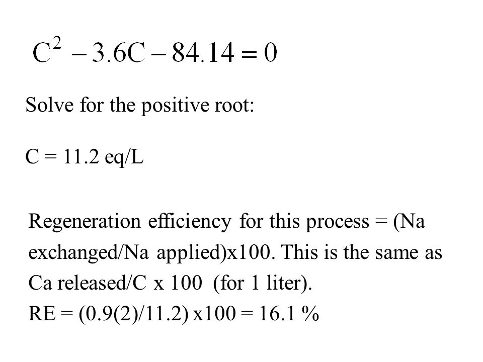 Solve for the positive root: