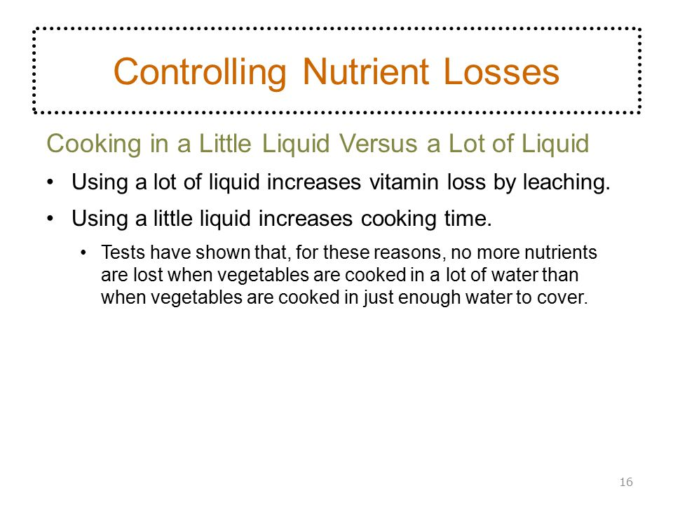 Controlling Nutrient Losses