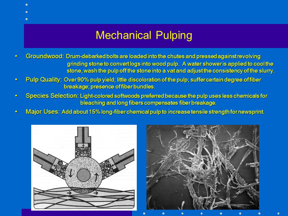 Mechanical Pulping