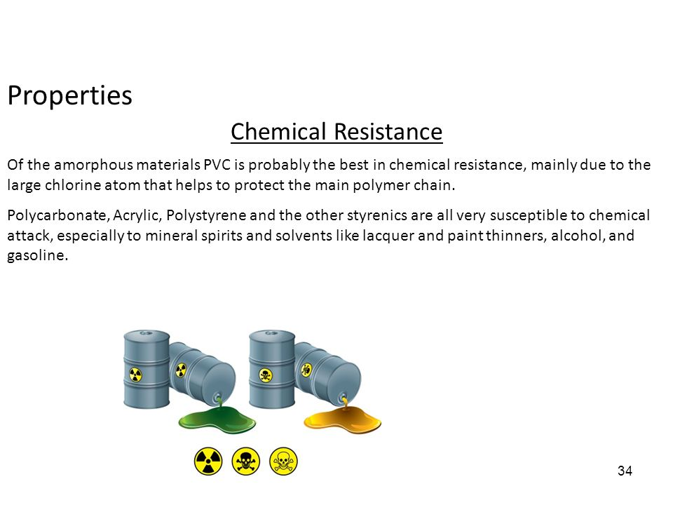 Properties Chemical Resistance