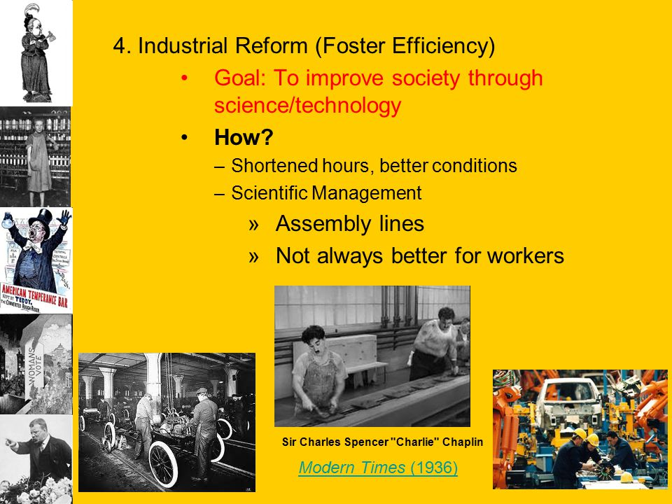 4. Industrial Reform (Foster Efficiency)