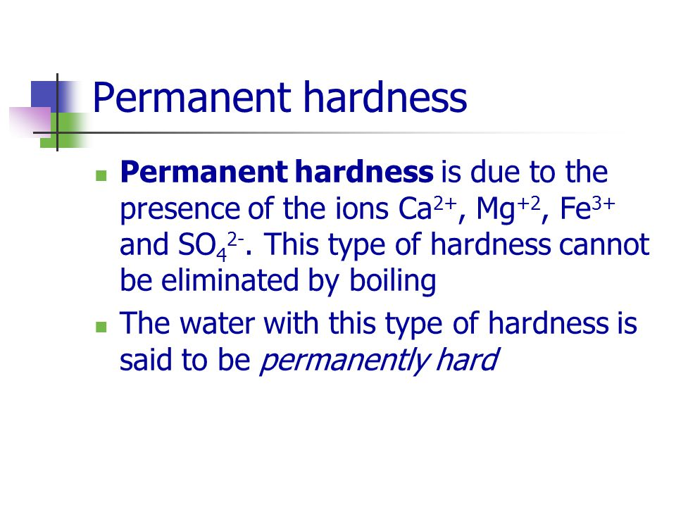 determination of water hardness Hardness 1 hardness removing hardness from water is called softening and hardness is mainly caused by calcium and magnesium salts these salts are dissolved from.