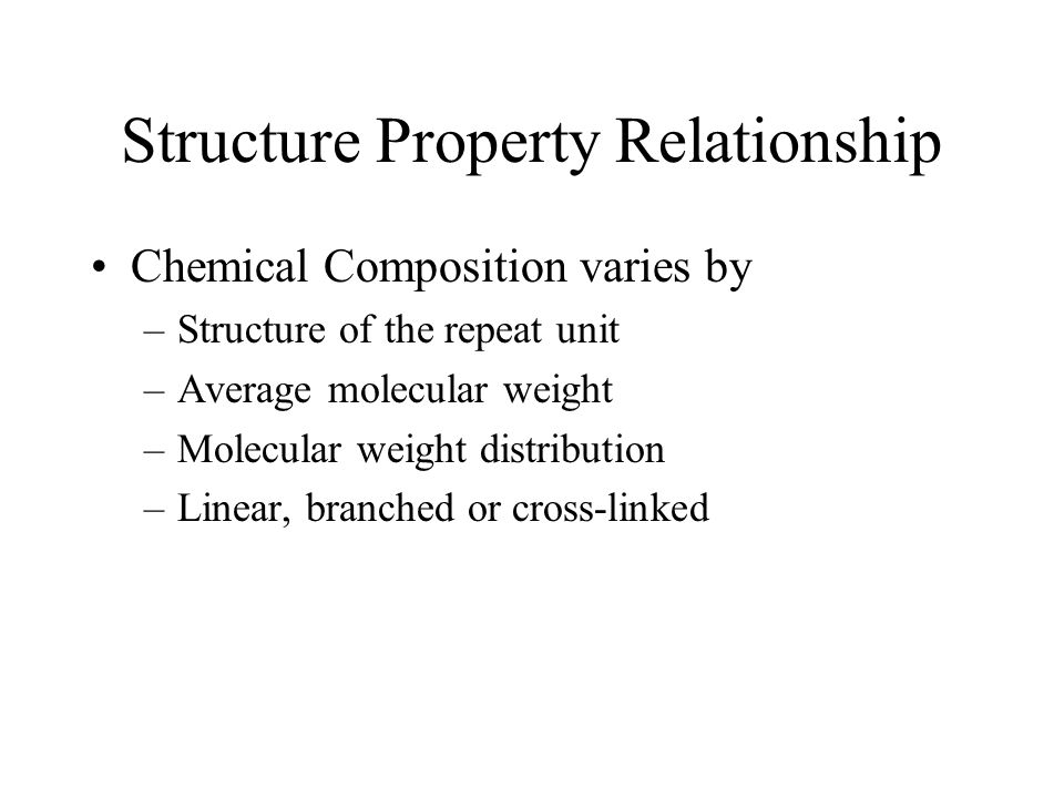 structure property relationship in materials pptv