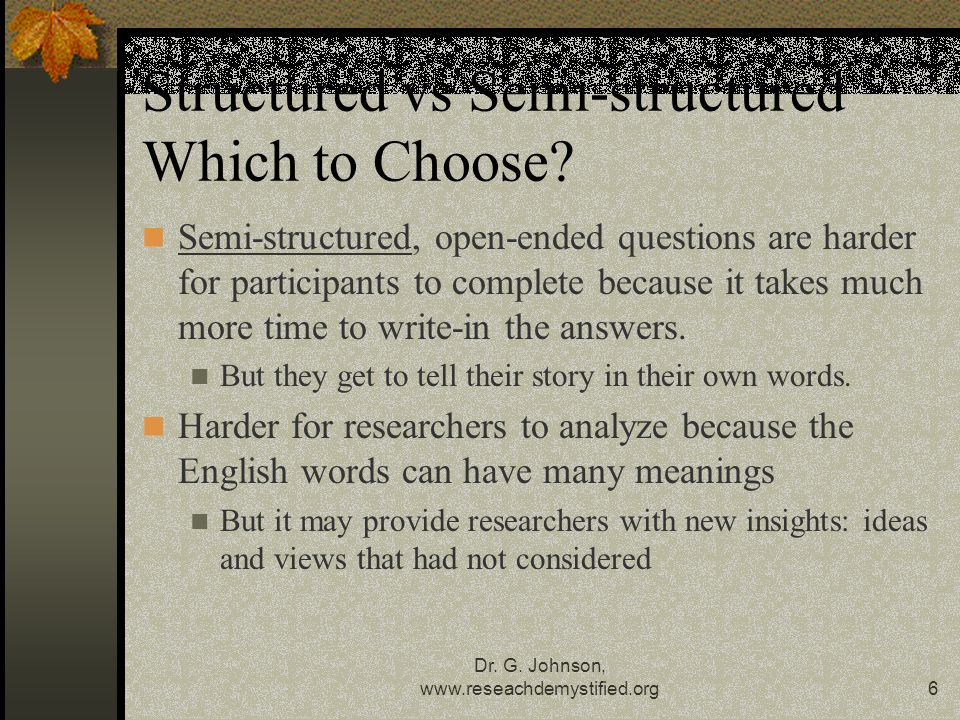 Structured vs Semi-structured Which to Choose