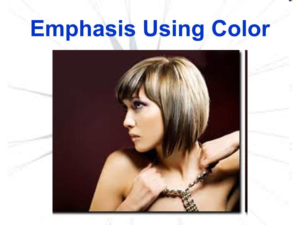 Emphasis Using Color