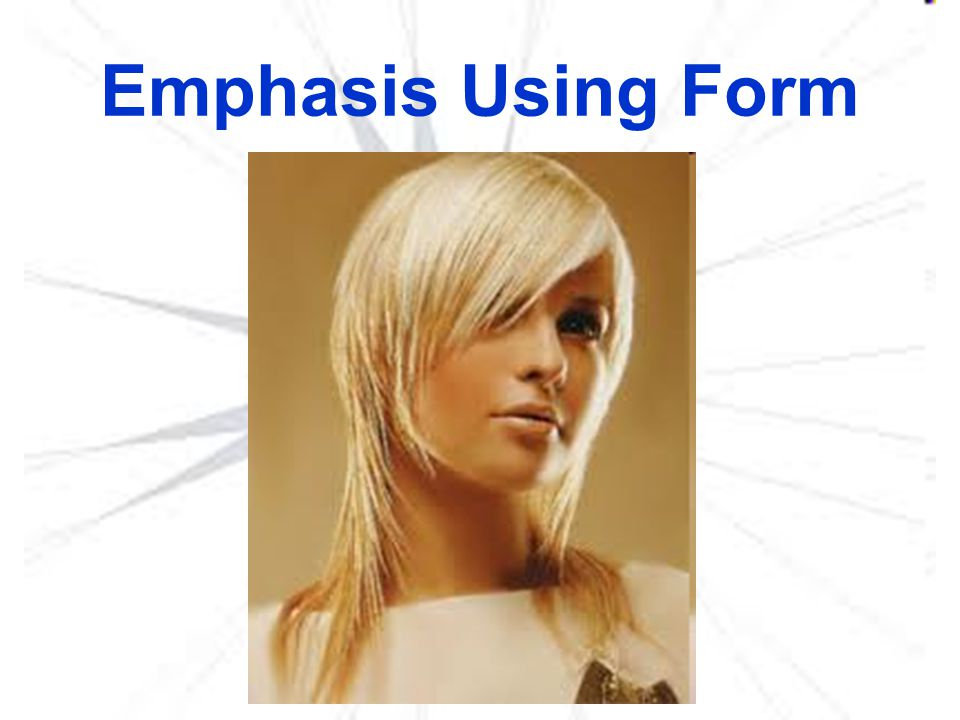 Emphasis Using Form