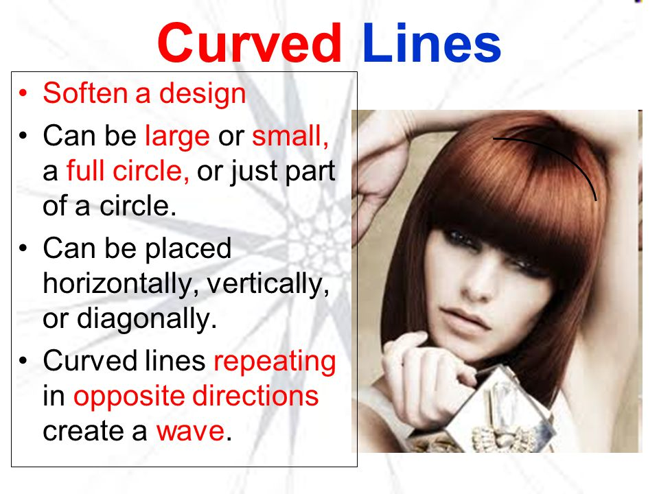 Curved Lines Soften a design