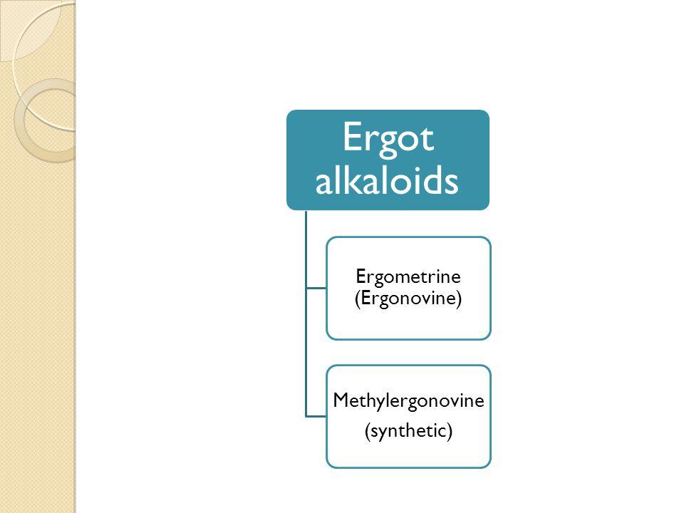 Ergometrine (Ergonovine)