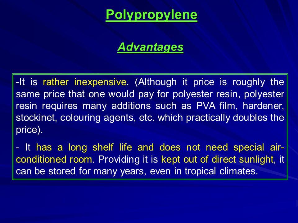 Polypropylene Advantages