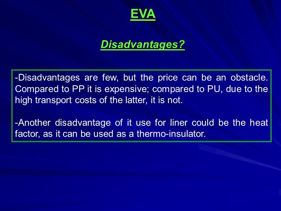 EVA Disadvantages