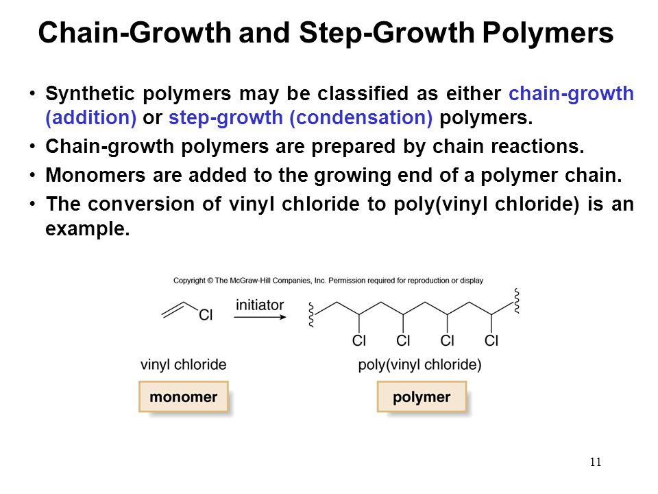 Chain-Growth and Step-Growth Polymers