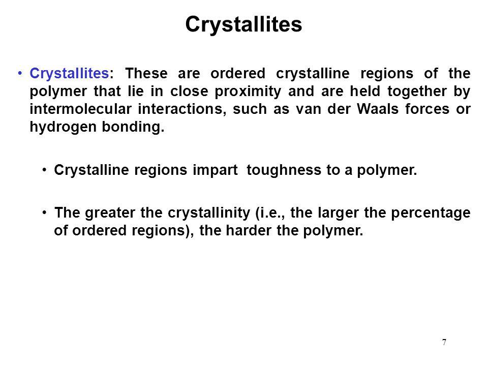 Crystallites