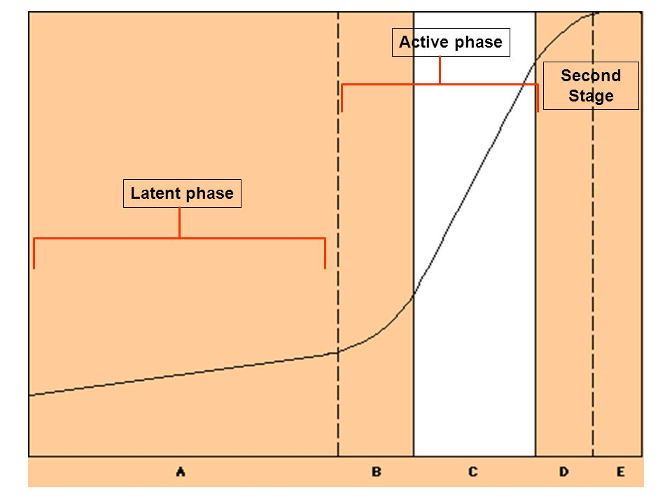 Active phase Second Stage Latent phase