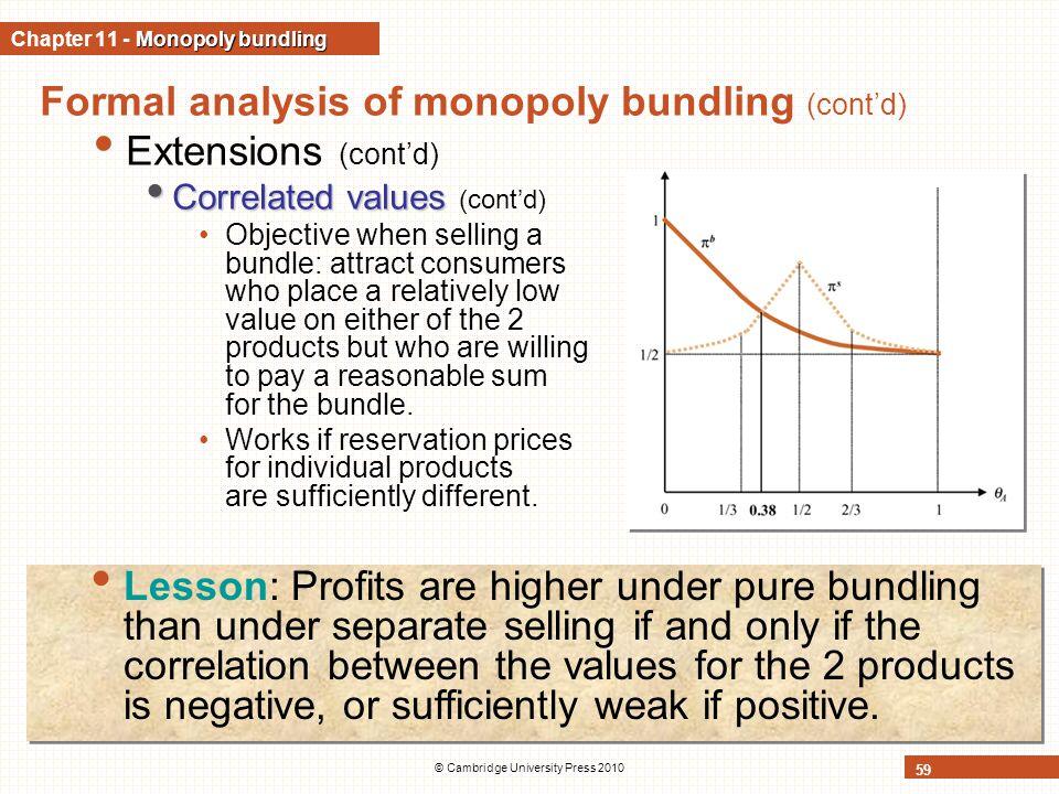 Chapter 11 - Monopoly bundling