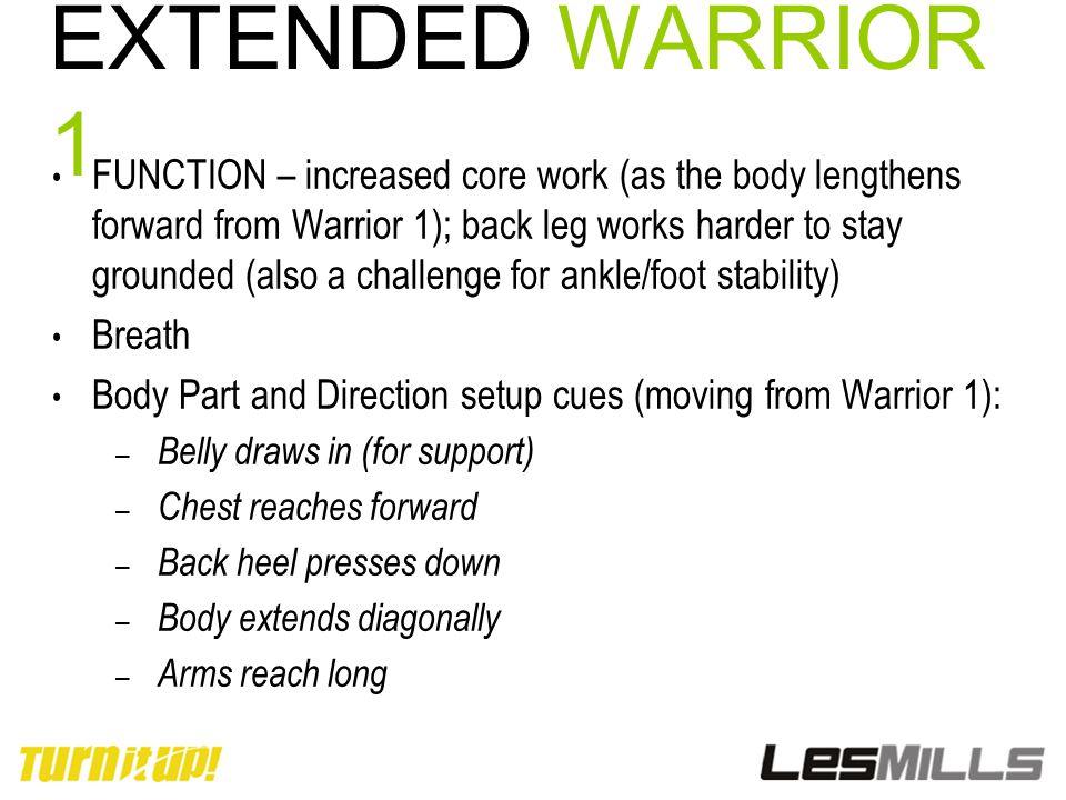 EXTENDED WARRIOR 1