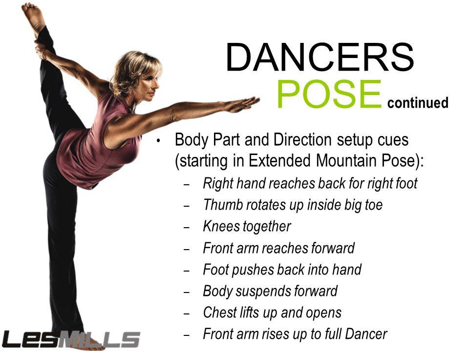 DANCERS POSE continued