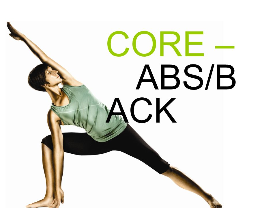 CORE – ABS/BACK