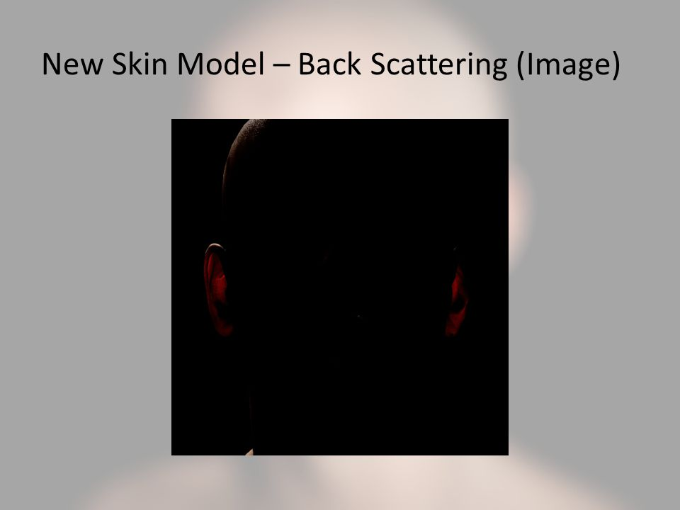 New Skin Model – Back Scattering (Image)