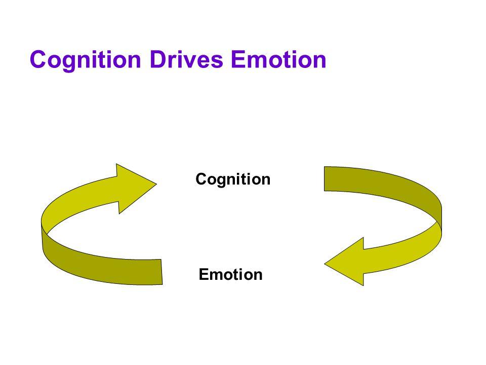 Cognition Drives Emotion