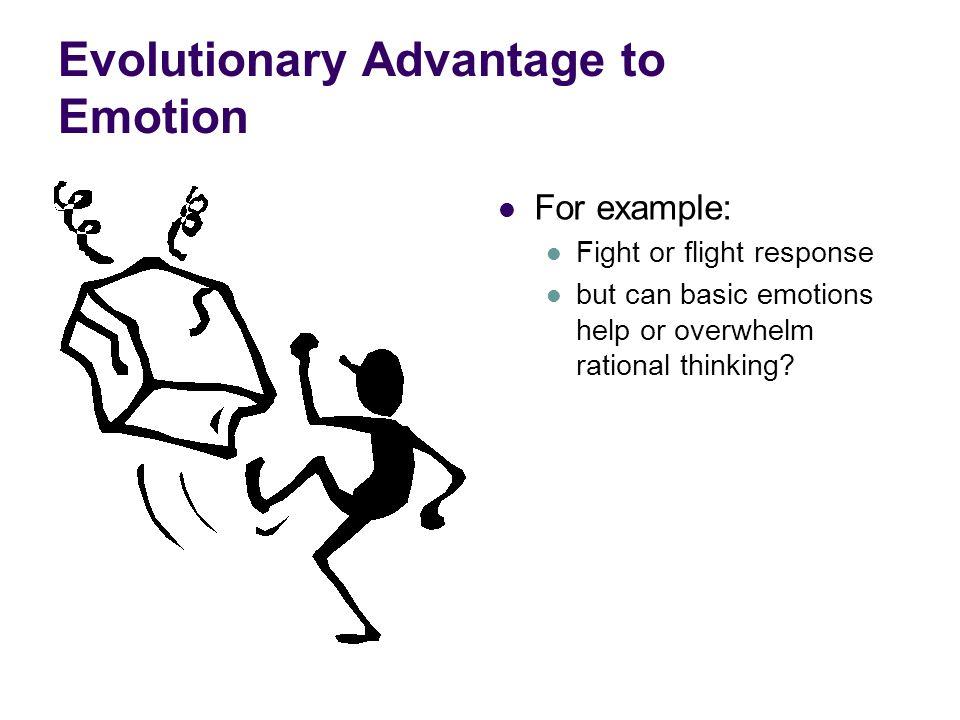 Evolutionary Advantage to Emotion