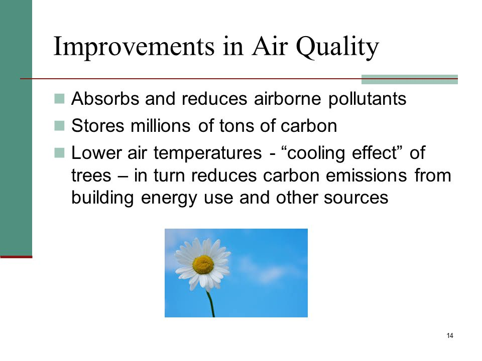 Improvements in Air Quality