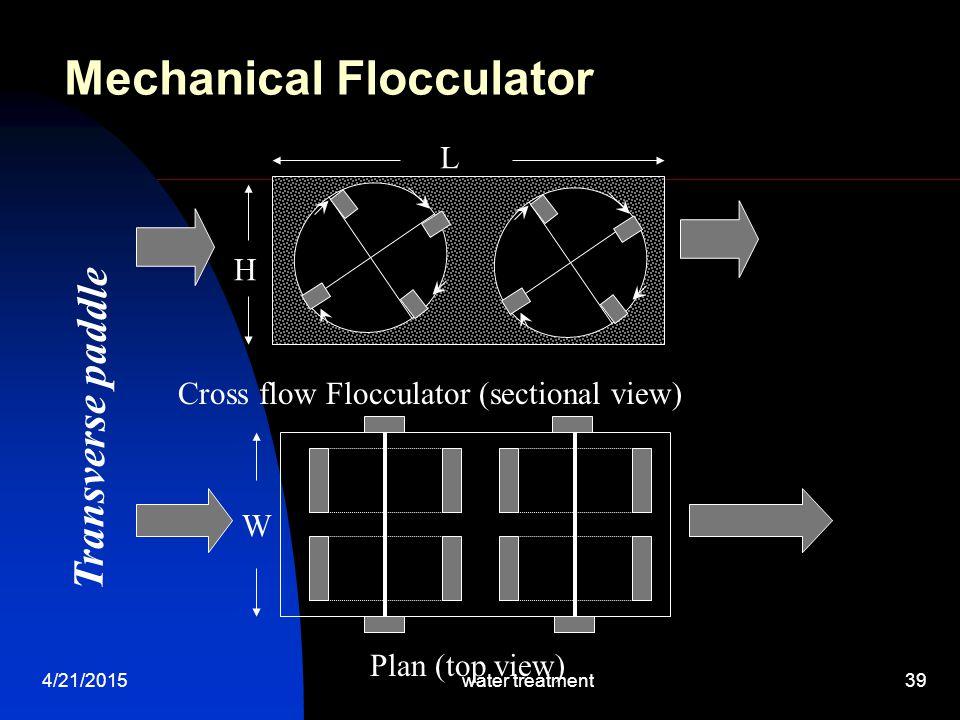 Mechanical Flocculator