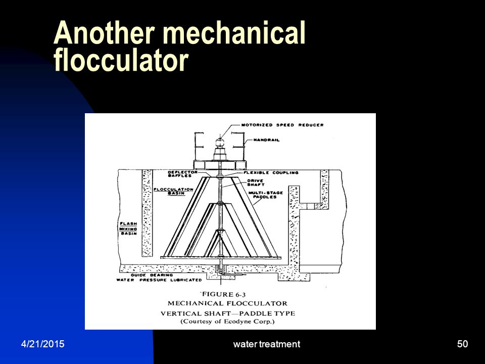 Another mechanical flocculator
