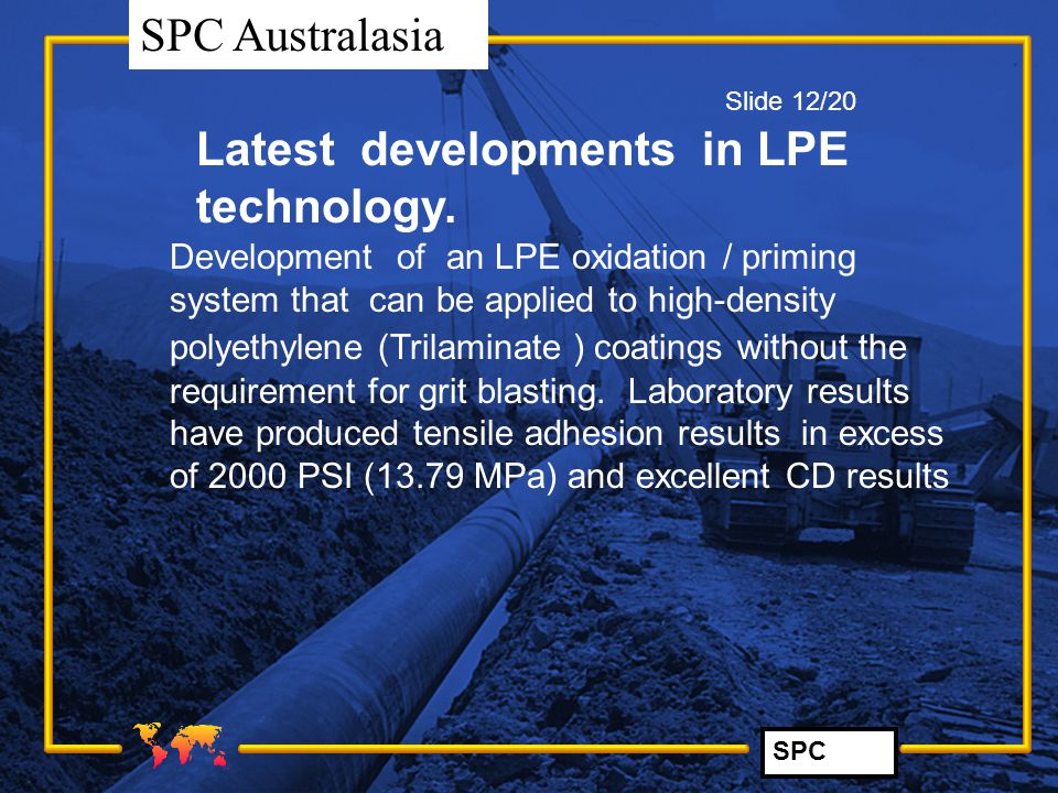 Latest developments in LPE technology.