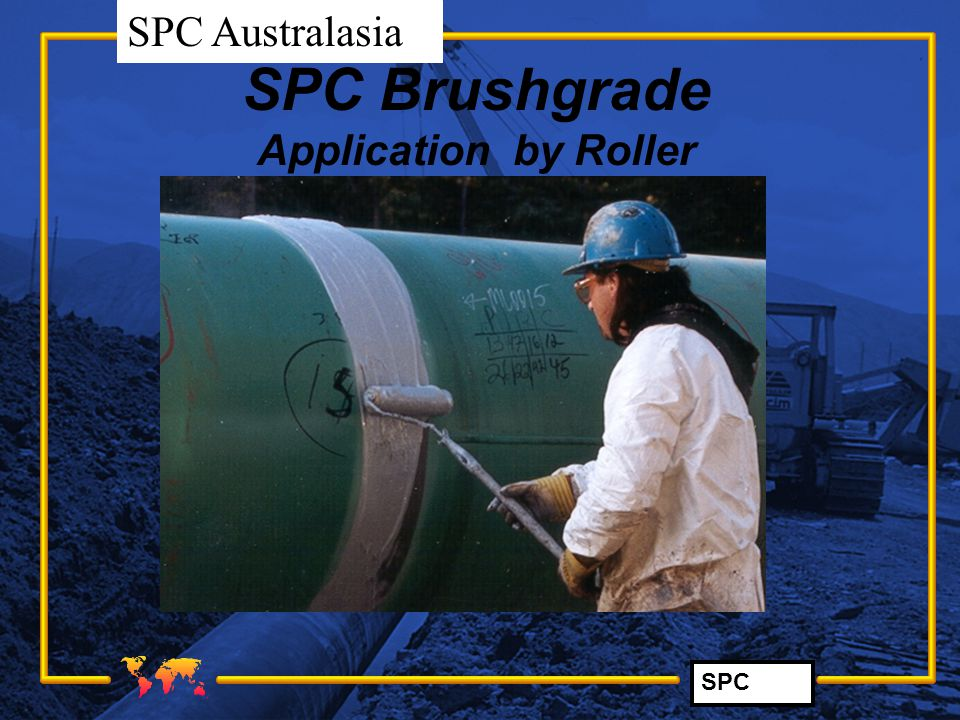 SPC Brushgrade Application by Roller