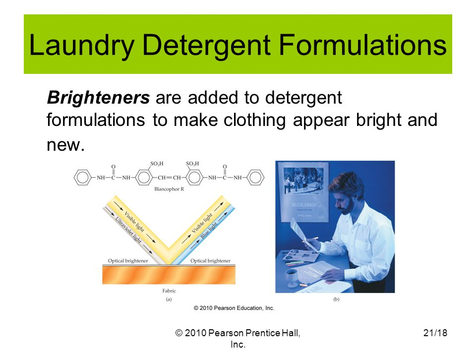 Laundry Detergent Formulations