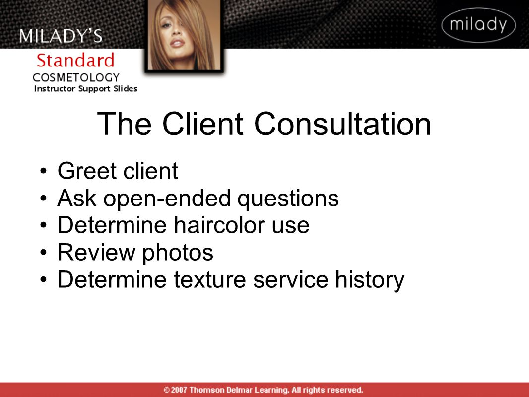 The Client Consultation