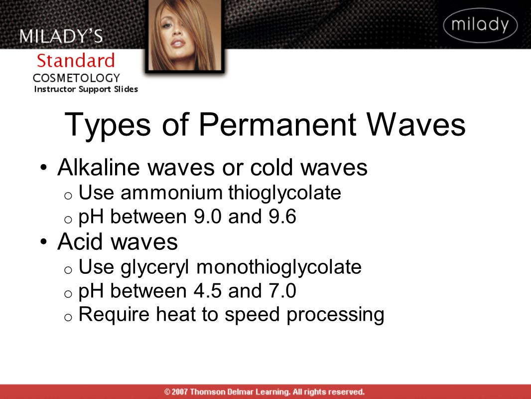 Types of Permanent Waves
