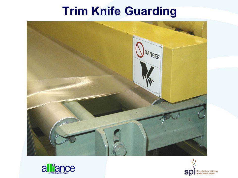 Trim Knife Guarding