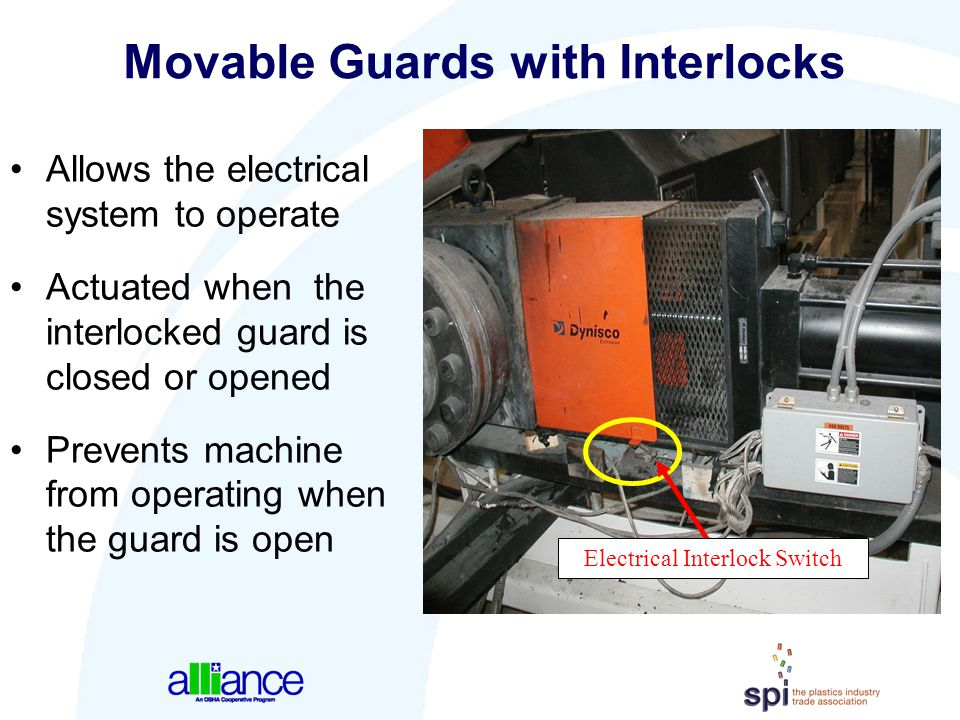 Movable Guards with Interlocks