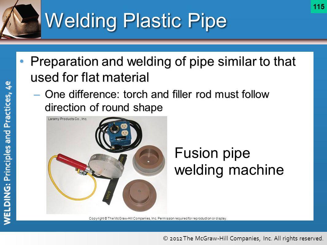 Welding Plastic Pipe Fusion pipe welding machine